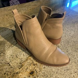Forever 21 Low Heel Ankle Booties